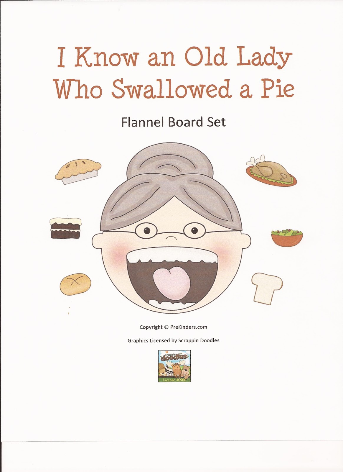 The Pre K Reporter I Know An Old Lady Who Swallowed A Pie
