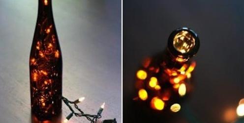 7 ideas para reciclar botellas de vidrio nueva mentes for Ideas para reciclar botellas de vidrio