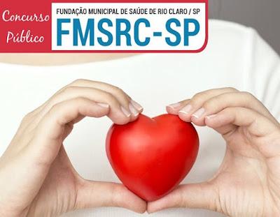 Fundação Municipal de Saúde de Rio Claro-SP Concurso: APOSTILAS