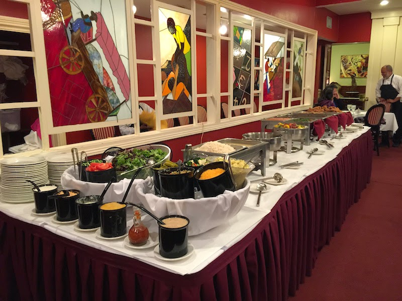 The Buffet Line At Dooky Chase S Restaurant In New Orleans