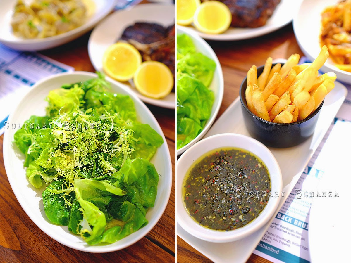 Left: Butter Lettuce | Right: Fat Chips