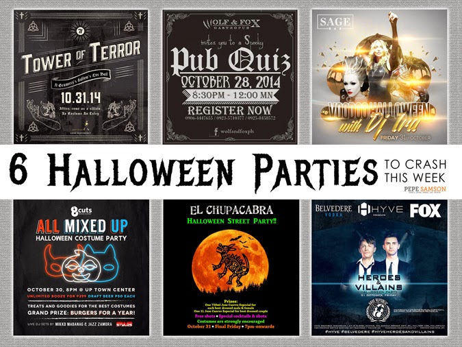 6 Halloween Parties to Crash This Week
