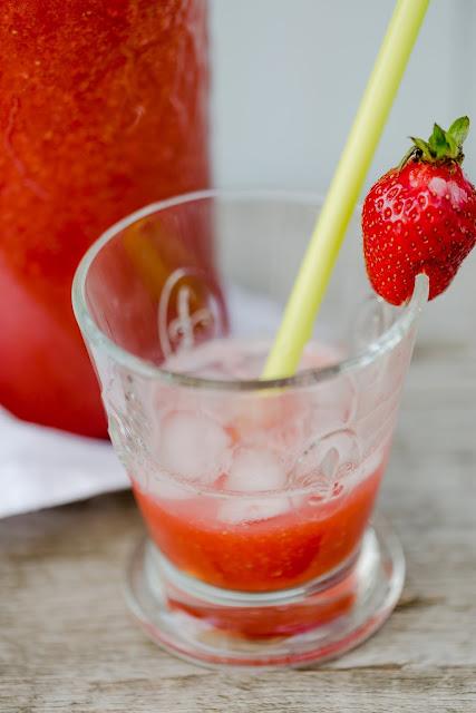 Summerfeeling, Pomponetti, Erdbeerlimes, Rezept