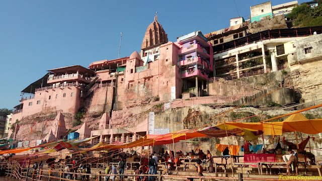Omkareshwar Temple Ghat