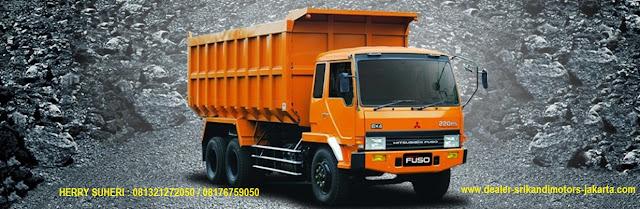 paket kredit dp ringan dump truck fuso 2019, fuso dump truck 2019