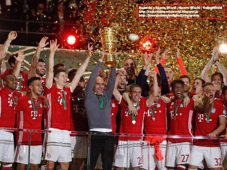2015 16 Dfb Pokal Final Bayern Munich 0 0 4 3 Borussia Dortmund