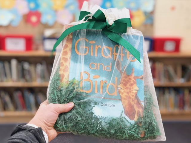 TD Grade One Book Giveaway - Giraffe and Bird
