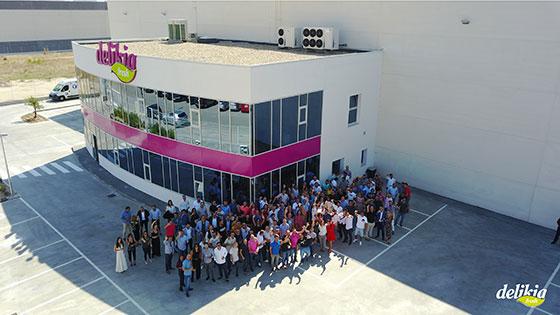 Delikia fresh inaugura su nueva sede en madrid san fernando de henares news tv - Obra nueva san fernando de henares ...