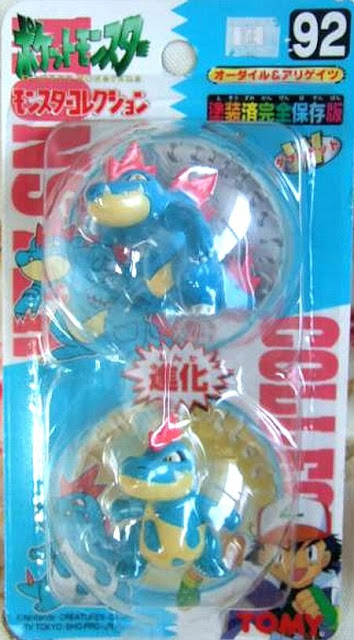Feraligatr figure Tomy Monster Collection series