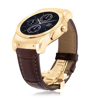 LG Watch Urbane Luxe limited edition Android Wear smartwatch announced with 23-karat gold