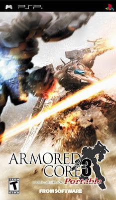 Armored Core 3 Portable cover