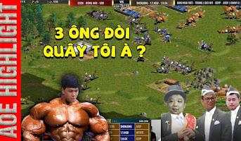 Aoe Highlight | Khán giả ngỡ ngàng với màn thủ nhà của Sẻ trước 3 cao thủ Trung Quốc
