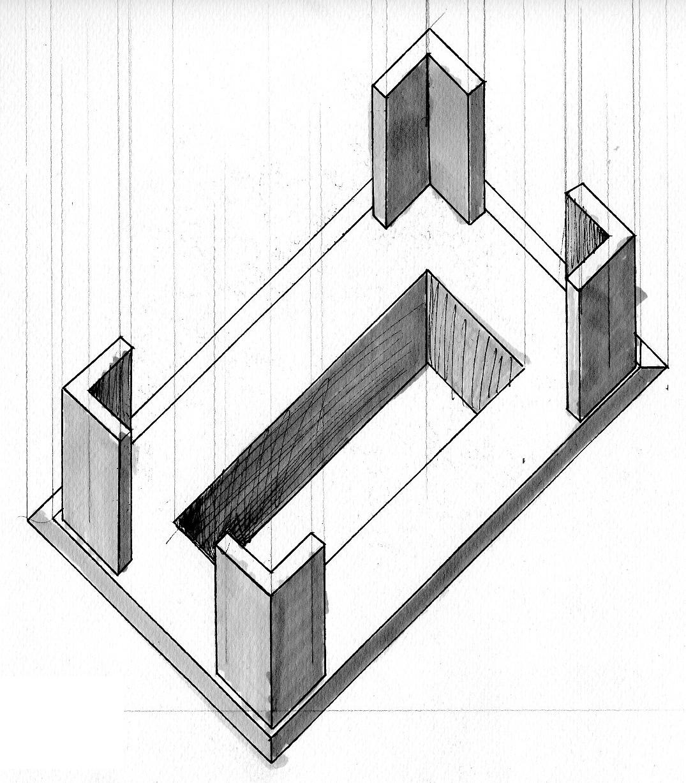 arsa live repr sentations perspectives bnf perrault architecte. Black Bedroom Furniture Sets. Home Design Ideas