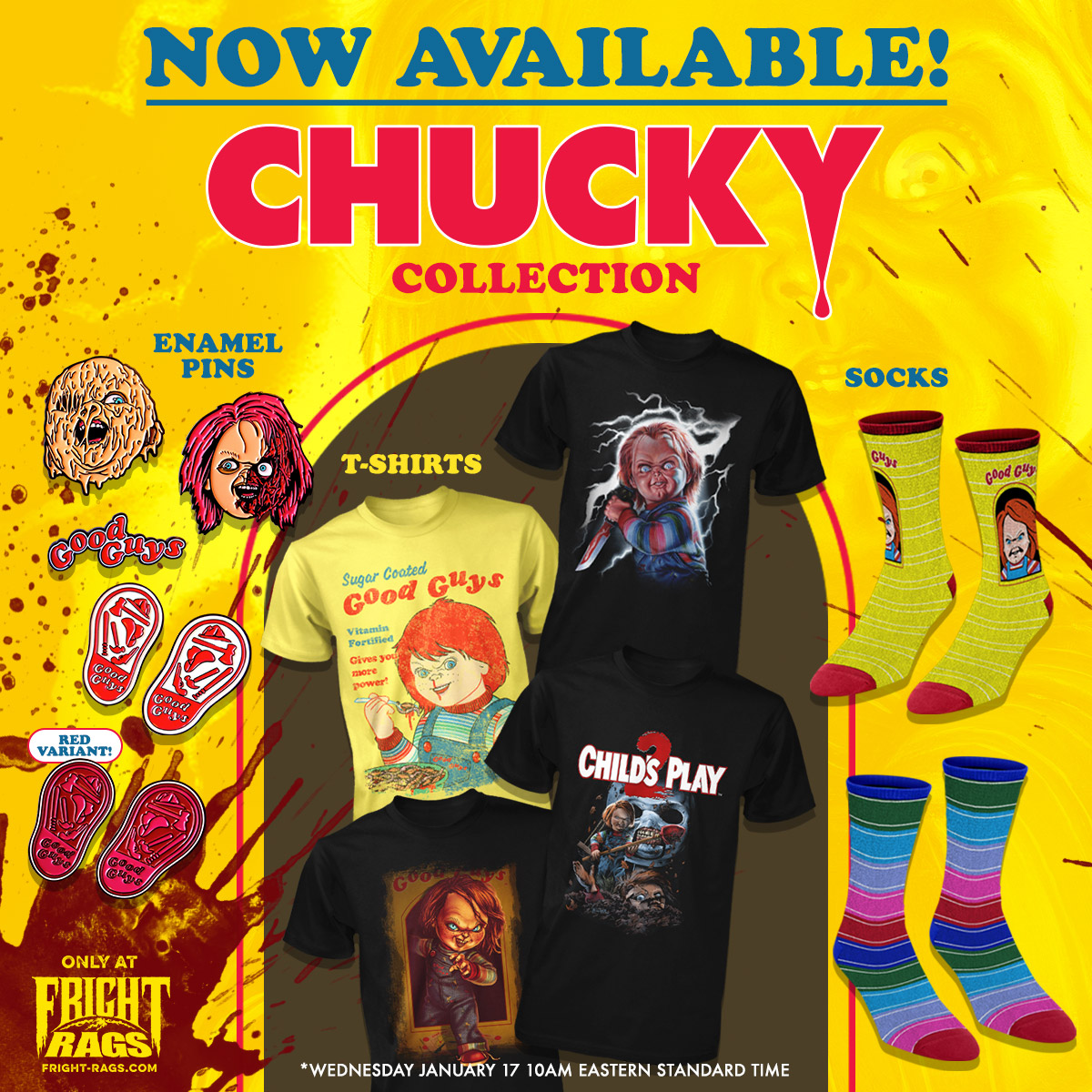 13c97575 MOOSTER RECORDS BLOG: Sorry Jack, Chucky's Back with New Fright-Rags ...