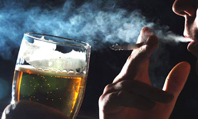 Álcool também causa câncer