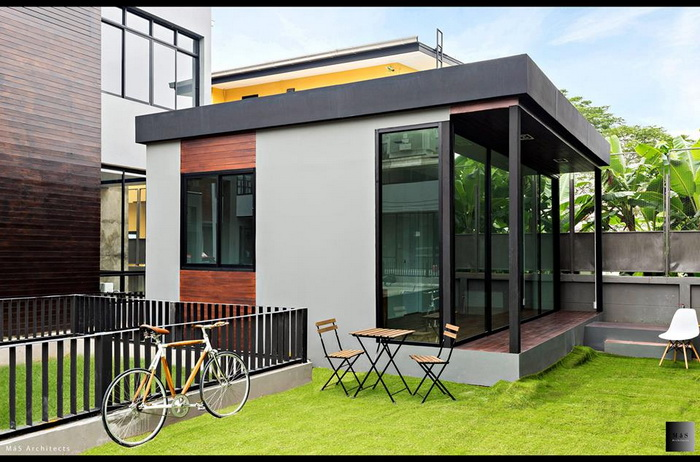 If you have a limited home-building budget but you want to spend the most for your money, then we have found some amazingly inspiring design ideas. If you don't have the capability to build a 3 to 5-bedroom house, it doesn't mean that the house you have to build needs to be ordinary or simple, and it's actually quite the opposite in fact!  There are a lot of benefits and advantages of having a small home. It saves money, with the low cost of maintenance and energy efficiency. All you need is enough space to enjoy life with your loved ones. To help you with some creativity, we have selected 50 extremely well-done small sized house design ideas to inspire you. This article is filed under: small house floor plans, small home design, small house design plans, small house architecture, beautiful small house design, small house plans modern   SEE MORE: