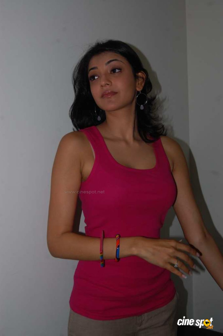 Hot  Sexy Indian Actress Photo Gallery Kaajal Agarwal -5890