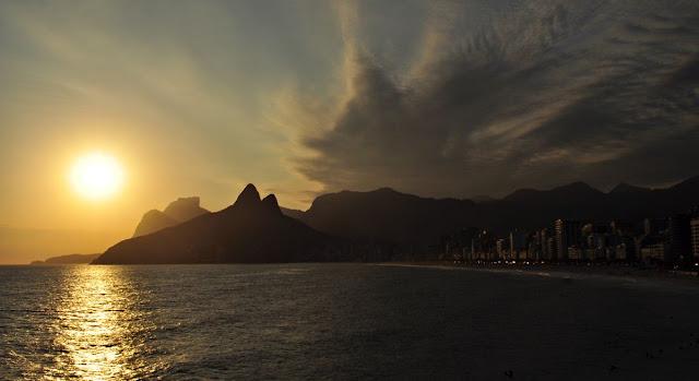 rotas, cariocas, arpoador, por do sol, visual, praia, inn, rio de janeiro, ipanema