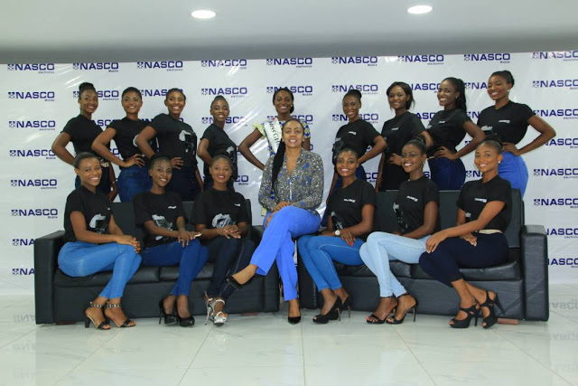 Miss Ghana 2017 Contestants Visit NASCO Ahead Of The Grand Finale On October 7