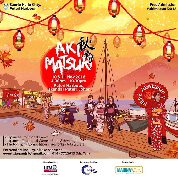Jom Pergi Festival Musim Luruh di Puteri Harbour!