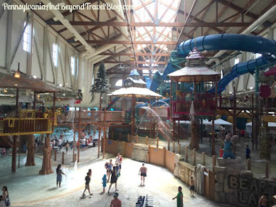 Great Wolf Lodge in the Poconos Pennsylvania