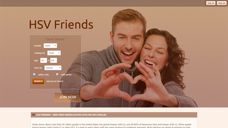 best herpes dating site