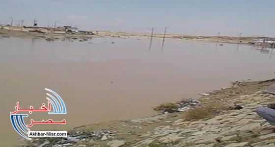 سيول وسط سيناء تملئ سد الكرم وتروى 400 فدان