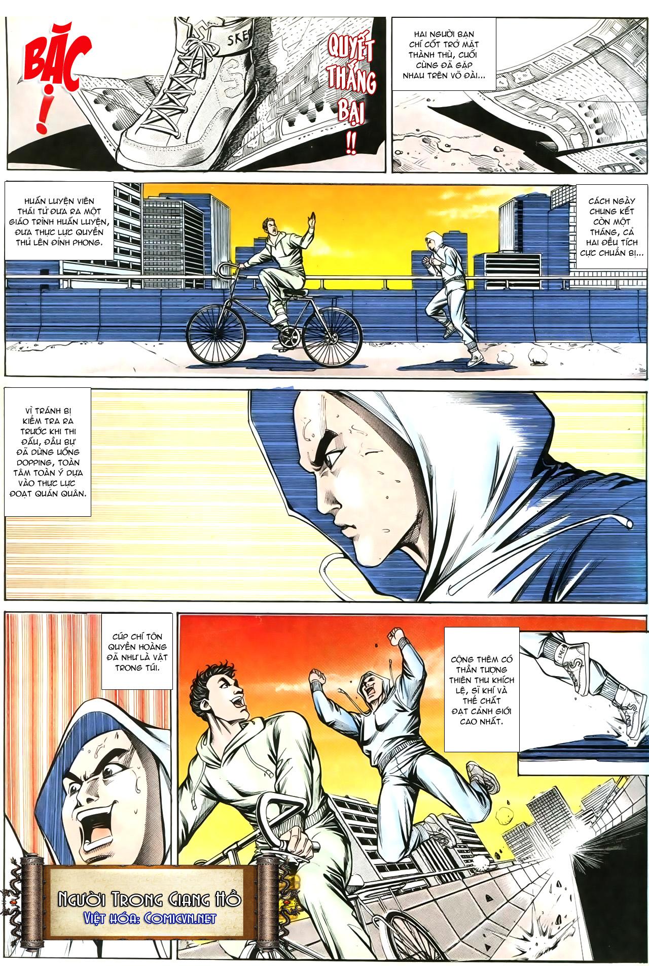 Người Trong Giang Hồ chapter 193: mưu kế đầy bụng trang 4