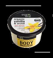 Vanilková pěna na tělo