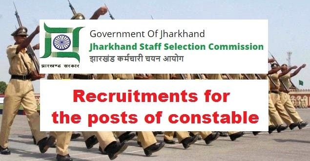 JSSC Recruitment for Constable Posts 2018