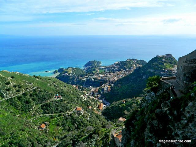 Taormina vista de Castelmola