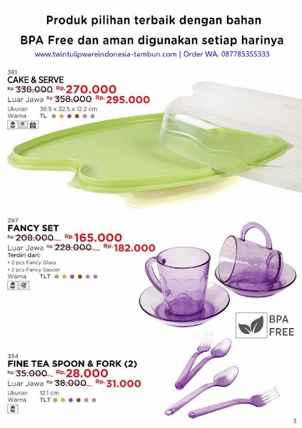 Promo Diskon Cake Serve, Fancy Set, Fine Tea Spoon Fork November 2017
