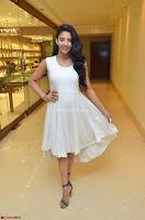 Daksha Nagarkar Cute Beauty in Sleeveless White Dress at Khwaaish Exhibition Launch 2017 ~  Exclusive 021.JPG
