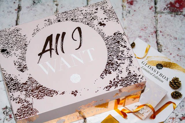 Glossybox - Cyber Monday Limited Edition 'All I Want' Box