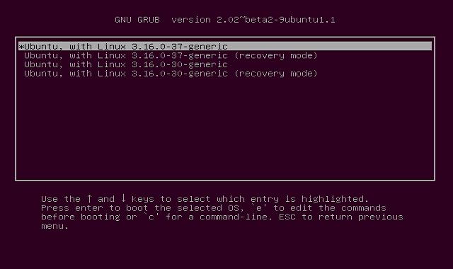 تغيير باسوورد الدخول إلى نظام Ubuntu بعد نسيانه