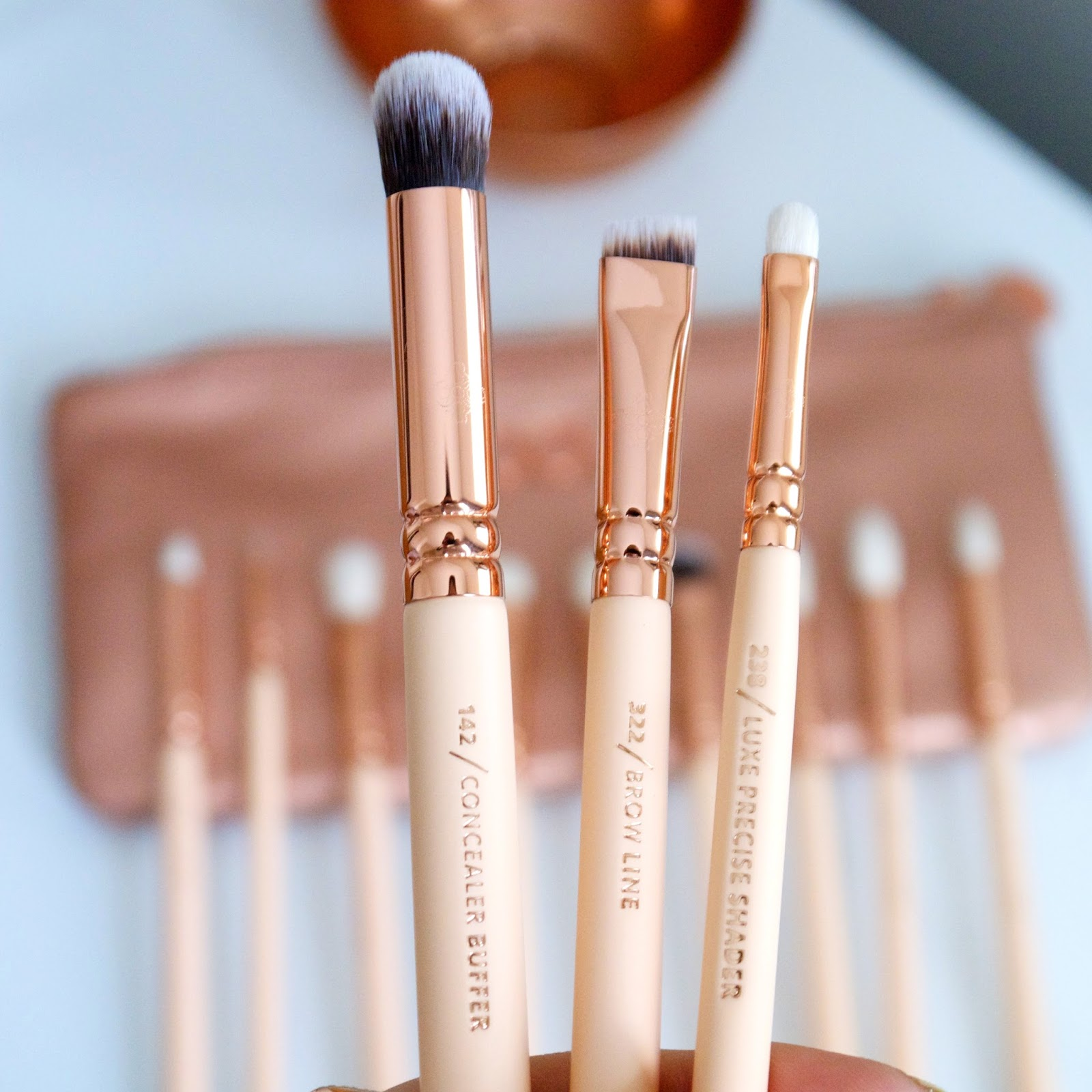 Zoeva Rose Golden eye brush set