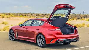 2018 Kia Stinger back