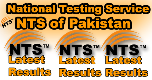 Gilgit Baltistan Excise & Taxation Department NTS Test 8 January Result