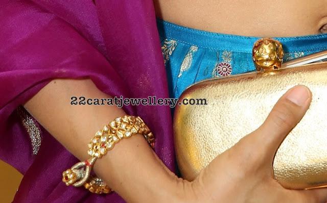 Shilpa Reddy Diamond Mango Mala Kundan Choker
