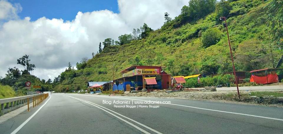Holiday Cameron Highlands | Suasana Indah Pemandangan Cantik di Kafe Banjaran