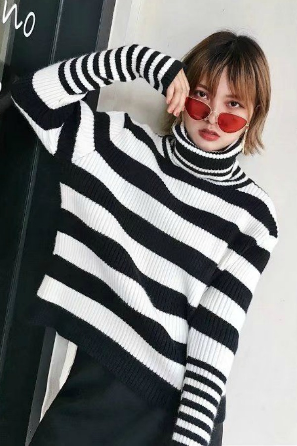 SWEATER RAJUT IMPORT - SWEATER TURTLENECK IMPORT - BAJU MUSIM DINGIN
