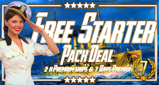 World of Warships - FREE Starter Pack