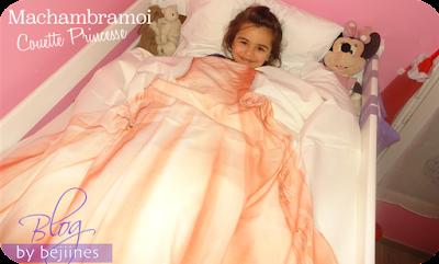 couette de lit  Princesses