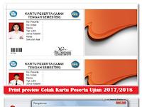 Aplikasi Cetak Kartu Peserta Ujian Sekolah (UTS UAS UKK dan UN) 2017/2018