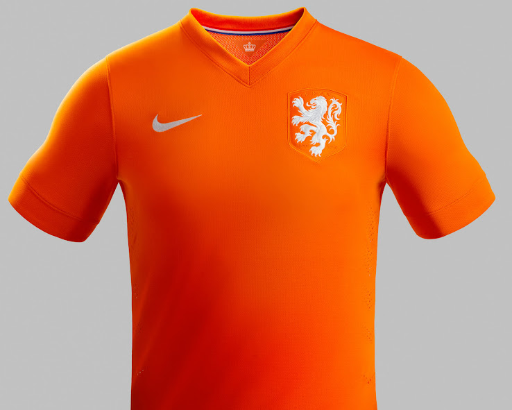 separation shoes d6d2b 0f70e Netherlands 2014 World Cup Home and Away Kits Released ...