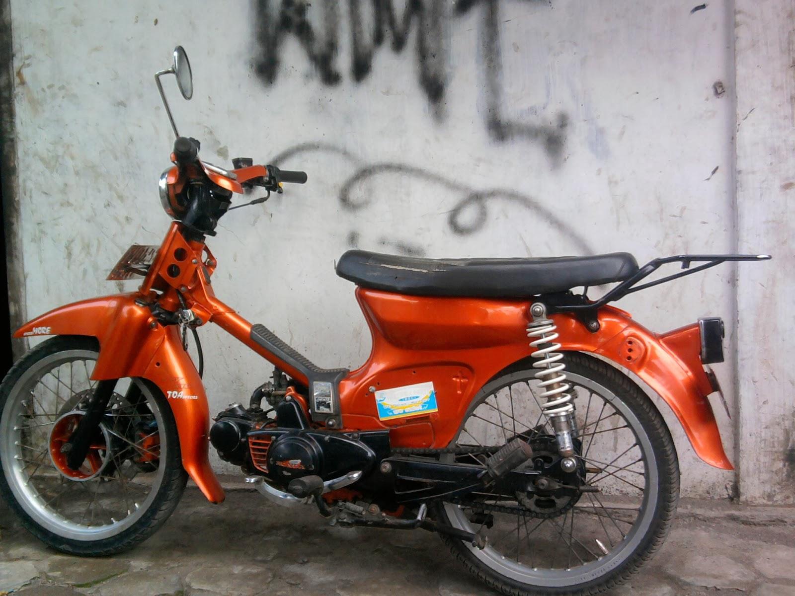 Modifikasi Honda C Modif Versi Korg Modifikasi Honda CBR