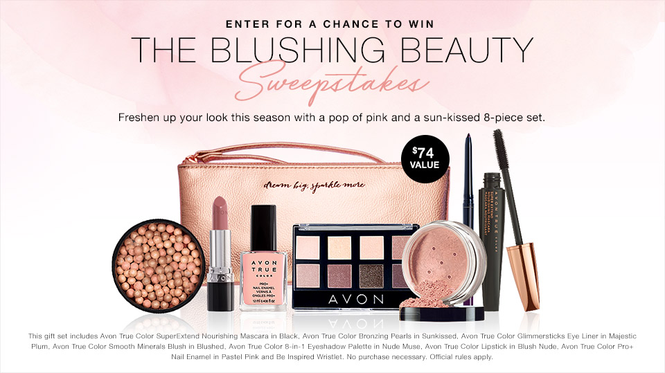 Avon Sweepstakes March 2017