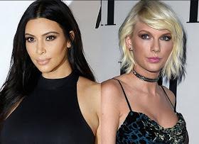 Kim Kardashian and Taylor