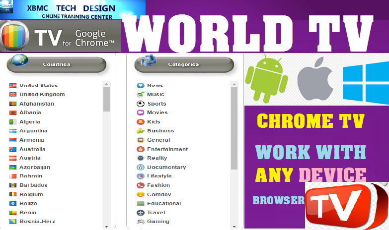 Download TVChrome Live(Pro) IPTV Apk For Android Streaming Live Tv ,Movies, Sports on Android,Browser,Pc Any Divice With Chrome-Browser Plugin     Quick TVChrome Live Tv(Pro)IPTV Android Apk Watch Premium Cable Live Tv Channel on Android or Any Device Plugin With Chrome.