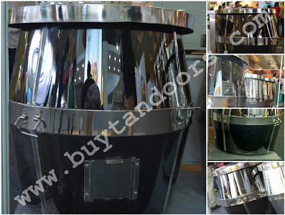 Black Mirrir Finish  tandoor